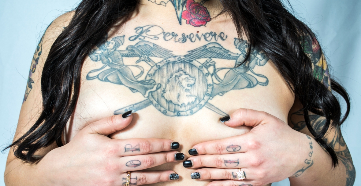 tattoo, perservere, artwork, photograph, Boudoir By Brittany, Brittany Taylor, Model