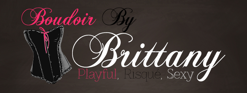 logo, boudoir by brittany, playful, risque, sexy, brittany taylor, corset, LeClaire, Iowa